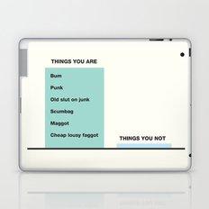 Fairytale of New York  Laptop & iPad Skin