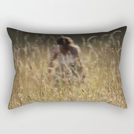 in the midst Rectangular Pillow