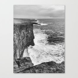 Irish Cliffs Canvas Print