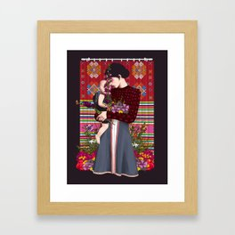 In Your Mom's Eyes Framed Art Print