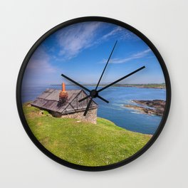 Fisherman`s Hut Wall Clock