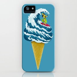 Perfect Wave iPhone Case