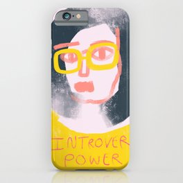 Introvert Power iPhone Case