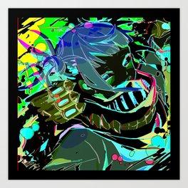 Super villain Himiko Toga Art Print