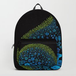 Paths of Color [Turquoise, Blue and Green] Backpack