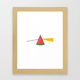 The Brightside of The Summer Framed Art Print