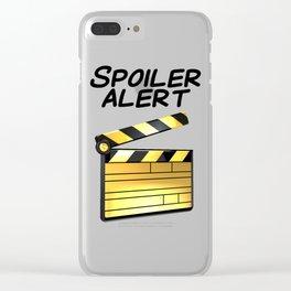 Spoiler Alert! Clear iPhone Case