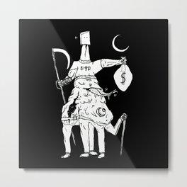 Deathscythe Metal Print