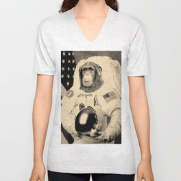 Space Monkey / Amor.Libertas Unisex V-Neck