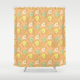 Juliette, flush Shower Curtain