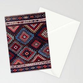 Jaff  Kurdish West Persian Bag Face Print Stationery Cards