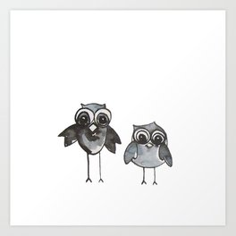 Two Feathered Friends Art Print