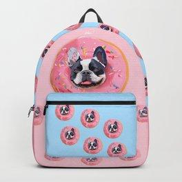 French Bulldog Donut Backpack