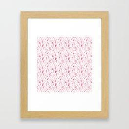 ELLAS SON COMO LAS FLORES DEL CEREZO IGUAL AL HAIKU Framed Art Print