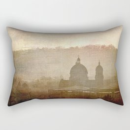 Cityscape - late afternoon Rectangular Pillow