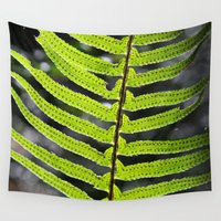 fern Wall Tapestries featuring Fern by Kirby Kilpatrick