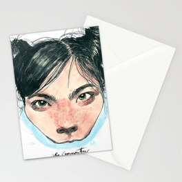 Bjørk in Milk Stationery Cards