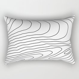 Topographic #440 Rectangular Pillow
