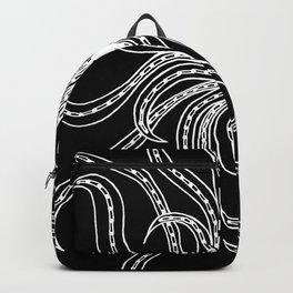 Floating Fronds Negative Backpack