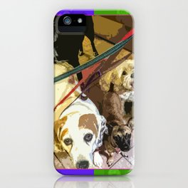 Roz, Buster, Peppy and Jamie iPhone Case