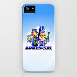 Après-ski iPhone Case