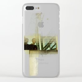 Transformative Space Revisited Clear iPhone Case