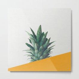 Pineapple Dip IV Metal Print