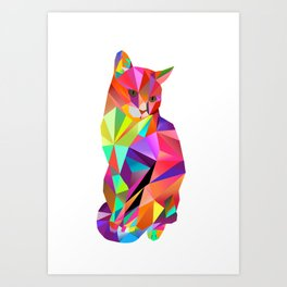Alfonso the Cat - Karl Kater Art Print