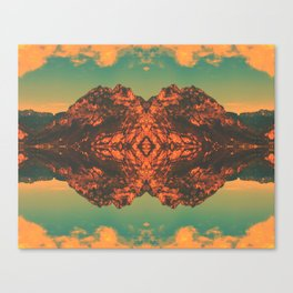 Magic Mountain Canvas Print