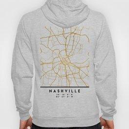 NASHVILLE TENNESSEE CITY STREET MAP ART Hoody
