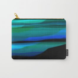 Capture the Moment Landscape in Shades of Green and Blue Carry-All Pouch