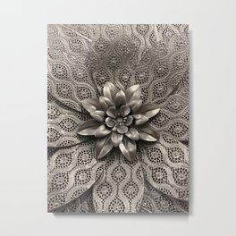 Metal flowers Metal Print
