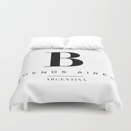 Buenos aires Duvet Cover