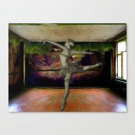 The studio remembers Canvas Print