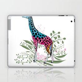 Happy Spring Giraffe Laptop & iPad Skin