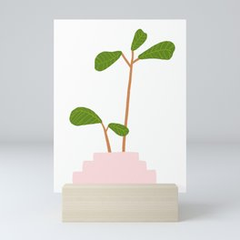 Fiddle Leaf Fig Tree Plant Mini Art Print