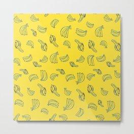 Bananal Pattern Metal Print