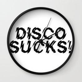 Disco Demolition Night Wall Clock