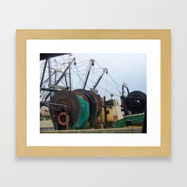 Working Waterfront Framed Art Print