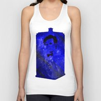 doctor who Tank Tops featuring Doctor Who by Fimbis