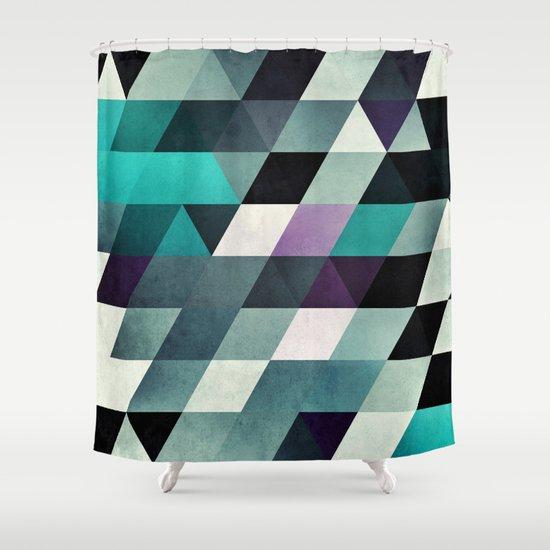 myga cyr Shower Curtain