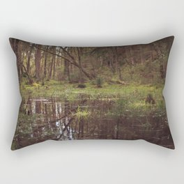 Forest Swamp Rectangular Pillow