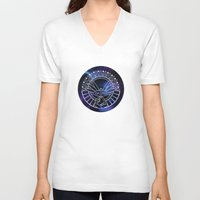 hey arnold V-neck T-shirts featuring Hey Arnold Buddha by Kitty Kichi