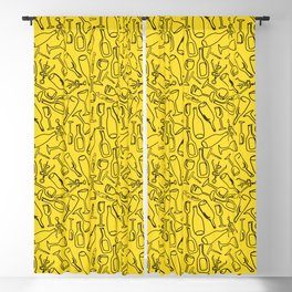 Wine (yellow) Blackout Curtain