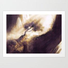Ray of Light 2 Art Print