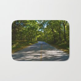 The road to Point Pelee National Park, Ontario Canada Bath Mat