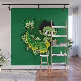 Pond Dragon Wall Mural