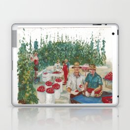 Tomato Growers,Australia             by Kay Lipton Laptop & iPad Skin
