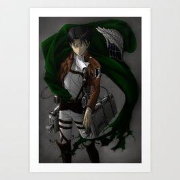 Levi - Attack on Titan / Shingeki no Kyojin Art Print