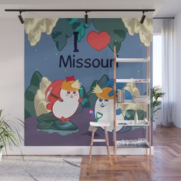 Ernest and Coraline | I love Missouri Wall Mural